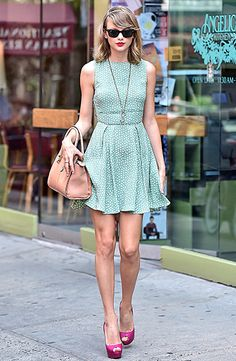 Taylor Swift's Greatest Street Style Moments - Us Weekly