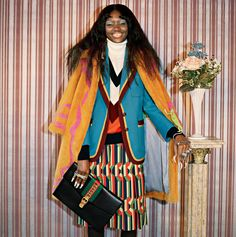 The kaleidoscopic, crazy, appliquéd-everything universe that designer Alessandro Michele has developed over the past two years at Gucci is dragging fashion in a refreshing direction. Check out the ad campaign for its pre-fall 2017 collection, which the iconic Italian brand unveiled today. Dubbed Soul Scene and shot by Glen Luchford, the series features Michele's latest hippie-maximalist designs—including reptiles, fanny packs, sequins, tiger-intarsia sweaters, and, of course, a whole lot of…