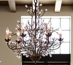 Camilla 6-Arm Chandelier | Home Decor and More | Globe ...