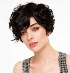 15 Short Haircuts for Curly Thick Hair | http://www.short-hairstyles.co/15-short-haircuts-for-curly-thick-hair.html