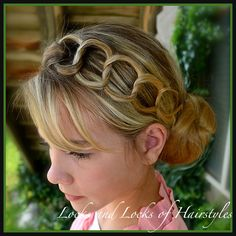Locks and Locks of Hairstyles: Quick and Easy Video Tutorials: Twists & Knots