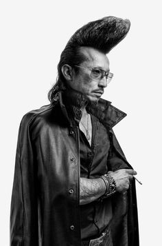 roller zoku denny renshaw / Japanese fashion / rockabilly subculture / men's fashion / hair