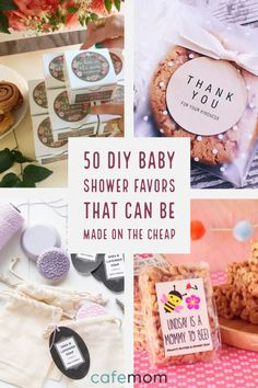 Here are some cheap DIY baby shower favor ideas that outdo store-bought ones! Very cute baby shower theme Otoño Baby Shower, Baby Shower Registry, Fiesta Baby Shower, Baby Shower Prizes, Baby Shower Themes, Shower Ideas, Baby Showers, Free Baby Shower Printables, Shower Games