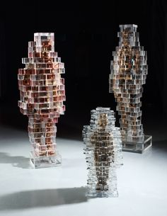 art,sculpture,installation,wood,architecture,pixel,cube