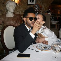 The Weeknd & Bella Hadid Grunge Style, Soft Grunge, Beaux Couples, Cute Couples, Bella Hadid Birthday, Happy Birthday Angel, The Weeknd Birthday, Abel And Bella, Abel The Weeknd