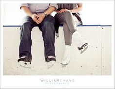 engagement photos ice skating - Google Search