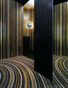 Bisazza mosaic stripes from Perini
