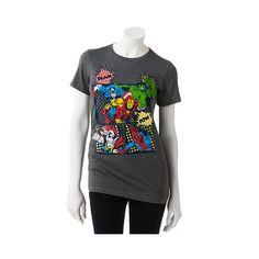Marvel Superheroes Juniors Womens T-Shirt