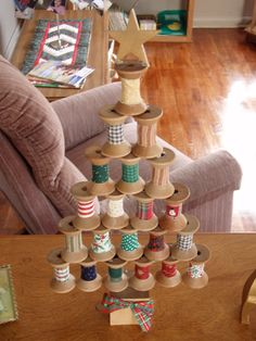 spool crafts   Wooden Spool Crafts