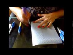 Gridwork Made Easy with Pauline Loweth from Parchment Express - YouTube