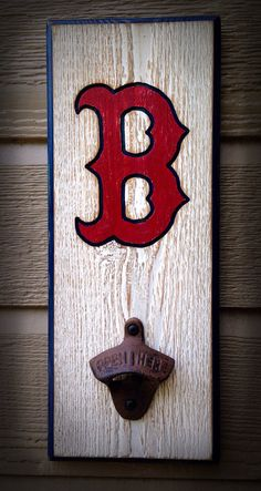 Boston Red Sox Bottle Opener on Etsy, $26.00