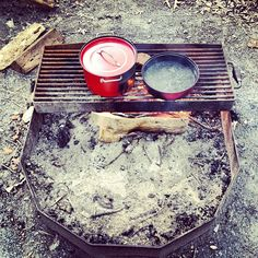 photo by michellelncln: #dinner #camping #campfire ⛺