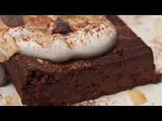 Naturally, Danny Seo: Eggplant Brownies - YouTube