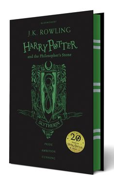 New Harry Potter Edition With Hogwarts Colors #slytherin