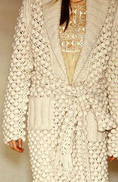 Fabulous Crochet a Little Black Crochet Dress Ideas. Georgeous Crochet a Little Black Crochet Dress Ideas. Gilet Crochet, Crochet Coat, Crochet Motifs, Crochet Jacket, Crochet Cardigan, Crochet Shawl, Crochet Clothes, Crochet Stitches, Bobble Crochet