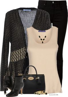 Stylish Bluemarine Cardigan Fall Outfit