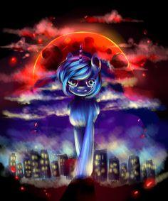 Wrath of the starless night (Luna) by AquaGalaxy.deviantart.com on @DeviantArt