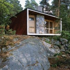 The Box, Lissma, Sweden by Ralph Erskine