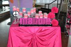Club Themed Bat Mitzvah Event Decor  Party Perfect Boca Raton, FL 1(561)994-8833