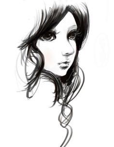 Pretty face to draw.