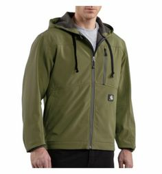 Carhartt - Product - Men's Soft Shell Hooded Jacket