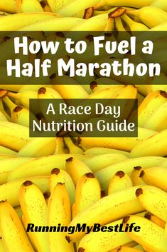 Learn the running fueling tips you need to fuel your best half marathon with this complete nutrition guide. It covers everything from dinner the night before your half marathon, to breakfast before yo Sport Nutrition, Nutrition Month, Complete Nutrition, Proper Nutrition, Nutrition Guide, Nutrition Education, Nutrition Club, Nutrition Activities, Herbalife Nutrition