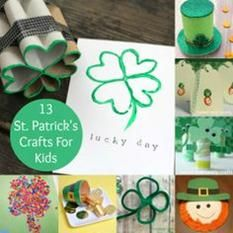 You're in Luck: 13 St. Patrick's Day Crafts for Kids -