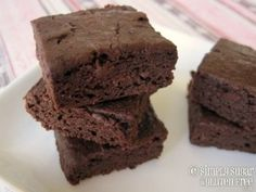 gluten free naturally sweetened brownies. Might be cheaper to make than the paleo brownies.