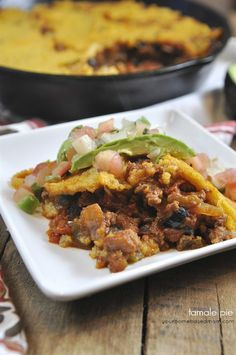 Tamale Pie | Your Homebased Mom Has a gluten free version too!