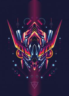 Stunning artworks from Robot Sacred Geometry collection. Our Displate metal prints will make your walls awesome. Blood Orphans, Gundam Iron Blooded Orphans, Sacred Geometry Art, Digital Art Gallery, Skull Illustration, Funny Phone Wallpaper, Gundam Art, Cyberpunk Art, Asdf