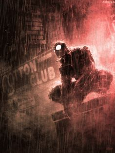 gif artwork rain Spiderman comics Marvel Marvel Comics lluvia spider-man noir spiderman gif marvel noir Spiderman noir Dennis Calero comics artwork marvel comics artwork comics art work