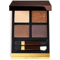 Eye Color Quad ($80) ❤ liked on Polyvore featuring beauty products, makeup, eye makeup, eyeshadow, beauty, eyes, matte eye shadow, sparkle eyeshadow, tom ford eyeshadow i shimmer eye shadow
