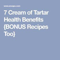 7 Cream of Tartar Health Benefits {BONUS Recipes Too}