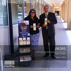 Public Witnessing, August Campaign at the DMV in Gilroy, California