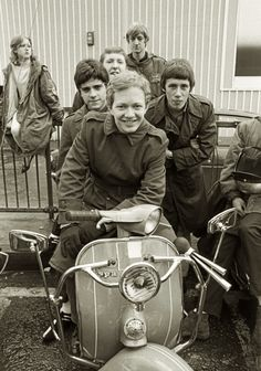 we are the mods Mod Scooter, Lambretta Scooter, Vespa Scooters, Scooter Girl, Mod Girl, Teddy Boys, Rude Boy, 60s Mod, Retro Pop