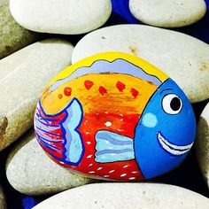 Derinlere Dalmak.... #fisheye #fish #gift #handmadegift #specialgift #rockpainting #paint #stonepainting #elyapımı #kisiyeozel #kisiyeozeltasarim #kisiyeozelhediye #taşboyama #tasboyama
