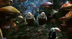 The weird world of Tim Burton's Alice In Wonderland movie | Mail ...