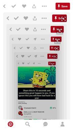 I got immunity cat on my side but I'm repining for SpongeBob