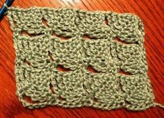 Wedge Stitch Rows 122212 - Lots of Crochet Stitches