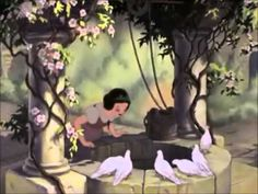 """Disney's """"Snow White and the Seven Dwarfs"""" - I'm Wishing/One Song.- and im wishing the god old technicolor days back Disney Movie Scenes, Disney Songs, Disney Music, Disney Theme, Disney Films, Disney Videos, History Of Animation, Animation Film, Snow White Prince"""