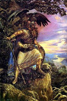 Deus do trovão e dos raios da mitologia eslava pré-cristã, Perun era particularmente venerado pelos russos, que chegaram a compará-lo ao Zeus grego. De acordo com as primeiras crônicas russas, Perun era a divindade máxima do panteão pagão antes da cristianização em 988 por St. Vladimir I, Grande Príncipe de Kiev. Por isso, suas associações eram inúmeras: ao firmamento, ao fogo, ao carvalho, às montanhas e às águias.