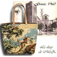 From Grasse, perfumes city, Great Handbag leshopdemoz.com