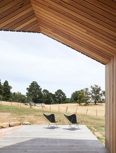 A clever, modest addition to an existing home in regional Victoria, by Solomon Troup Architects.