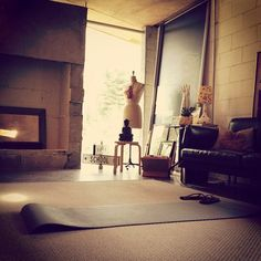 1000 images about yoga room design on pinterest yoga for Living room yoga