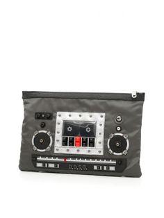 DOLCE & GABBANA Nylon Document Case. #dolcegabbana #bags #leather #lining #nylon #