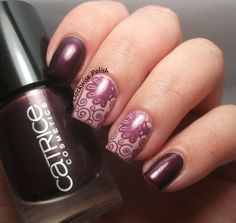 The Clockwise Nail Polish: Catrice First Class Up-Grape
