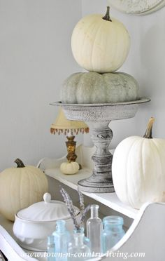 Fall Home Tour via Town and Country Living