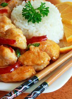 Low FODMAP & Gluten free Recipe - Orange chicken