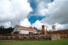 Church of Chincheros - Cusco Peru