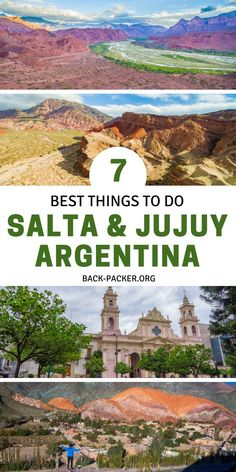 Seven of the best things to do in Salta and Jujuy Northern Argentina. Travel to the colonial town of Travel Route, Peru Travel, Solo Travel, Train Travel, Usa Travel, Visit Argentina, Argentina Travel, Backpacking South America, South America Travel